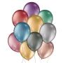 Balão de Festa Metálico - Cores - 9