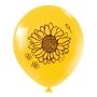 Balão de Festa Redondo Profissional Látex Decorado 11