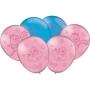 Balão Festa Galinha Pintadinha Candy - 25 unidades - Festcolor
