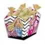 Cachepot Festa Barbie - 08 unidades - Festcolor