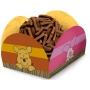Porta Forminha para Doces Festa Pooh e Sua Turma - 40 unidades - Festcolor