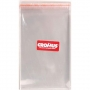 Saco Adesivado Transparente Liso Incolor 11x18cm - 100 unidades - Cromus