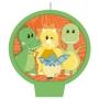 Vela Festa Dino Baby - 01 Unidades - Festcolor