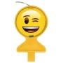 Vela Festa Emoji - 01 unidade - Festcolor