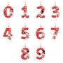 Vela Festa Minnie - Números - 01 unidade - Regina