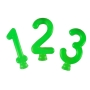 Vela Verde Neon - 01 Unidade - Festcolor