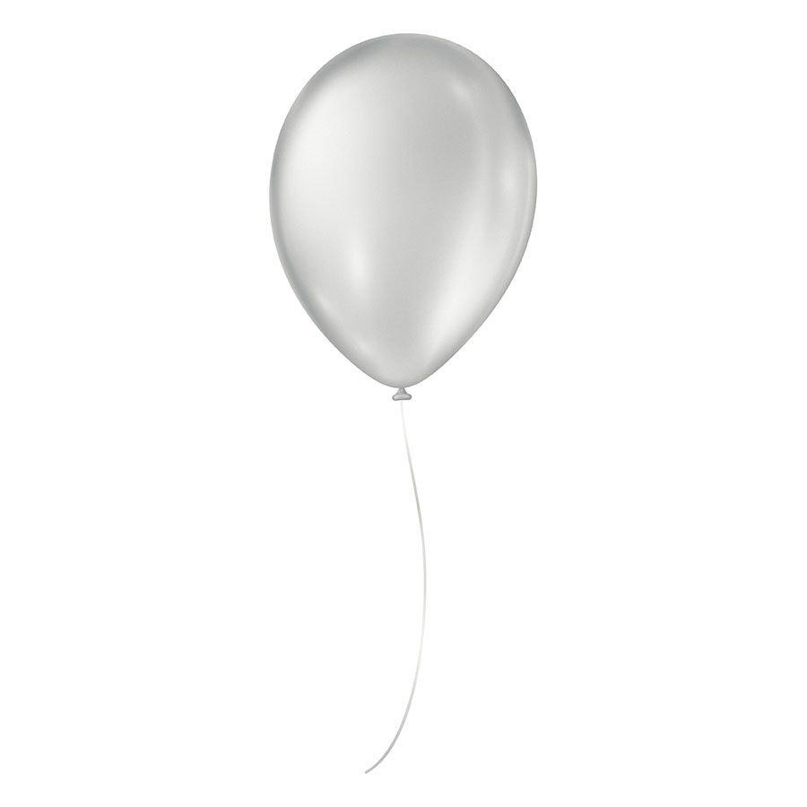 """Balão de Festa Cintilante - Cores - 07"""" 18cm - 50 Unidades"""