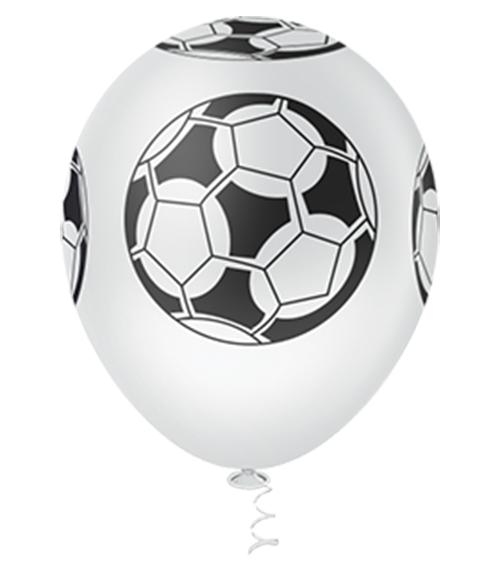"""Balão de Festa Estampado Bola de Futebol - 10"""" 25cm - Pic Pic"""