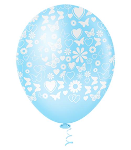"""Balão de Festa Estampado Primavera Sortido - 10"""" 25cm - Pic Pic"""