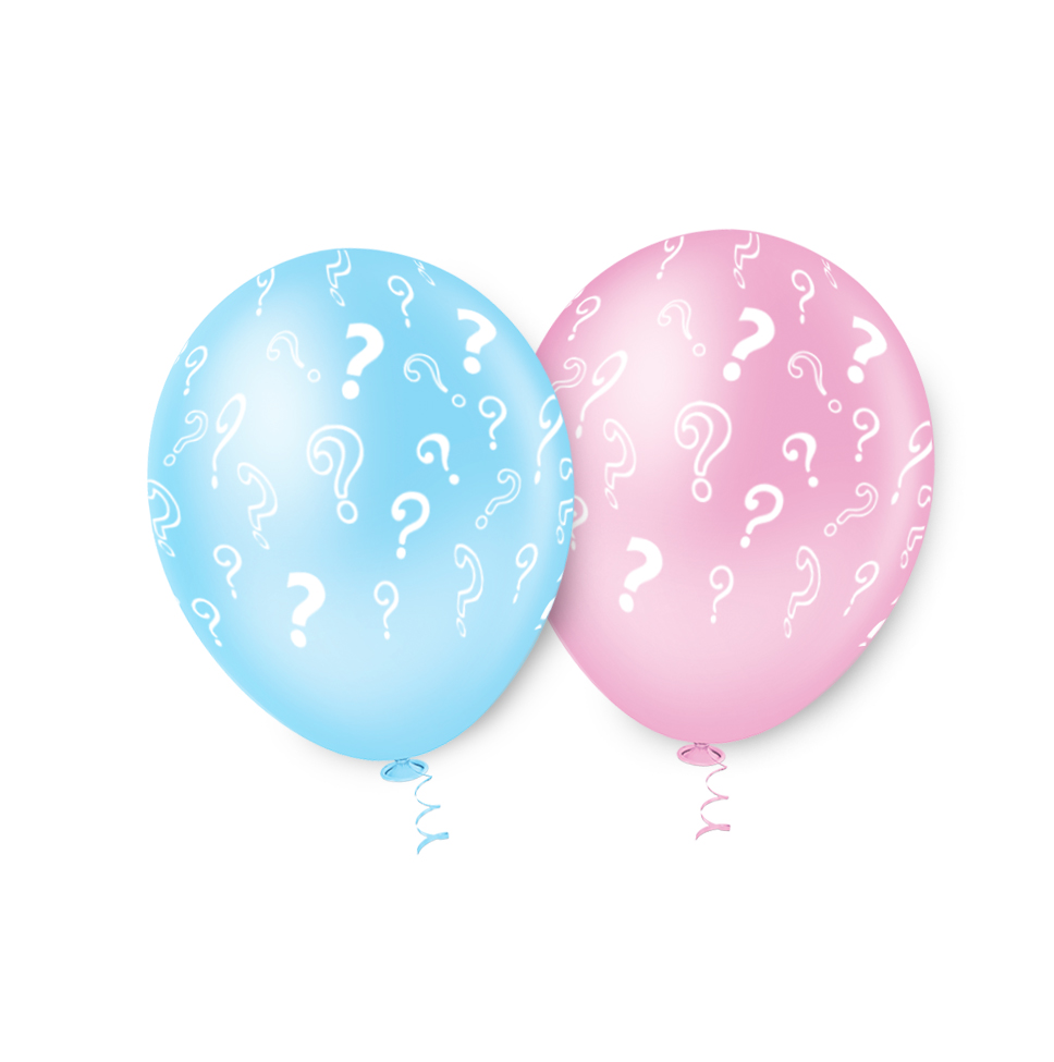 """Balão de Festa Estampado Revelação Sortido - 10"""" 25cm - Pic Pic"""