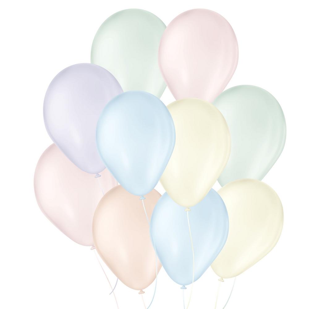 """Balão de Festa Látex Candy Colors - 7"""" 18cm - 25 Unidades"""