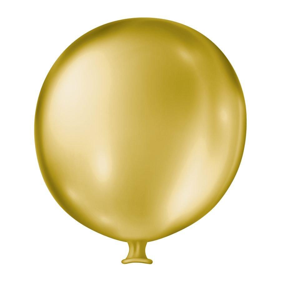 "Balão de Festa Látex Gigante Cintilante - Cores - 25"" 63cm - 01 Un."