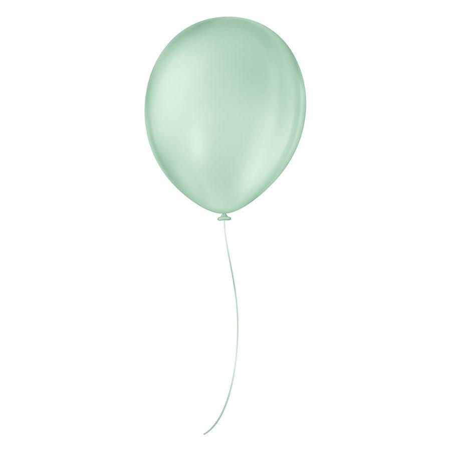 """Balão de Festa Látex Liso - Cores - 7"""" 18cm - 50 Unidades"""