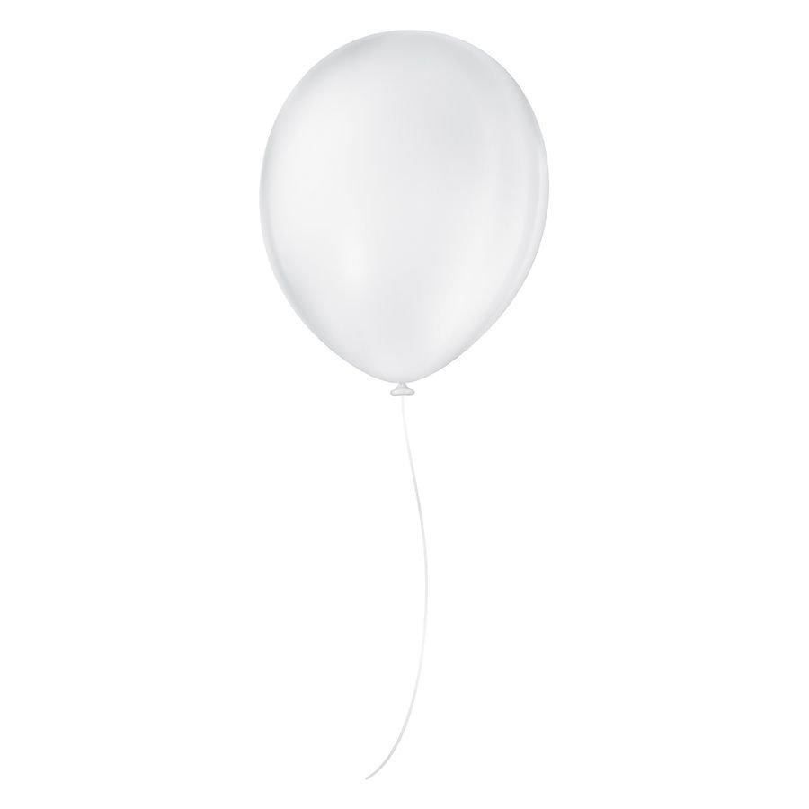 "Balão de Festa Látex Liso - Cores - 8"" Redondo 20cm - 50 Unidades"