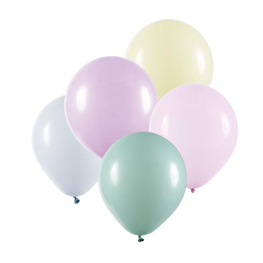 """Balão de Festa Redondo Profissional Látex Candy - Cores - 9"""" 23cm - 25 Unidades"""