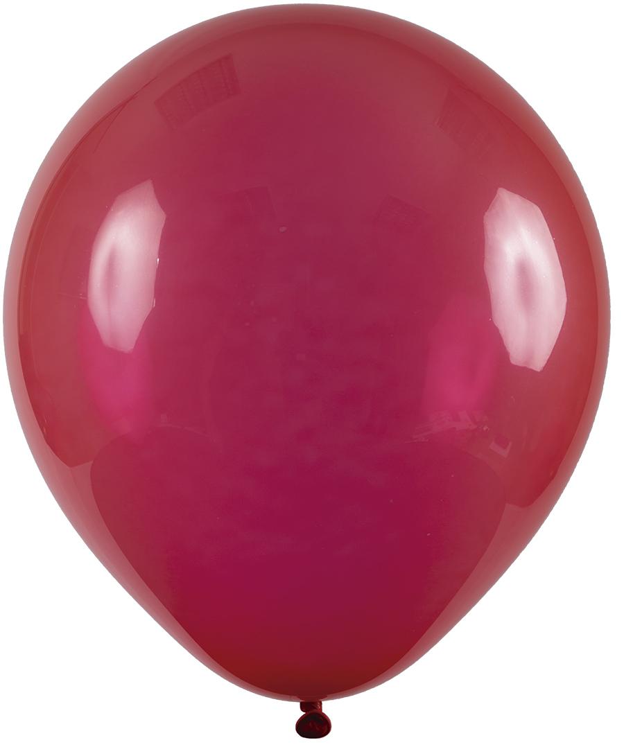 """Balão de Festa Redondo Profissional Látex Cristal - Cores - 9"""" 23cm - 24 Unidades"""