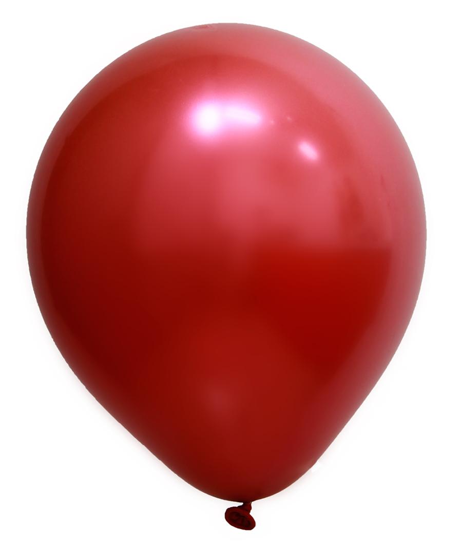 """Balão de Festa Redondo Profissional Látex Cromado - Cores - 5"""" 12cm - 24 Unidades"""