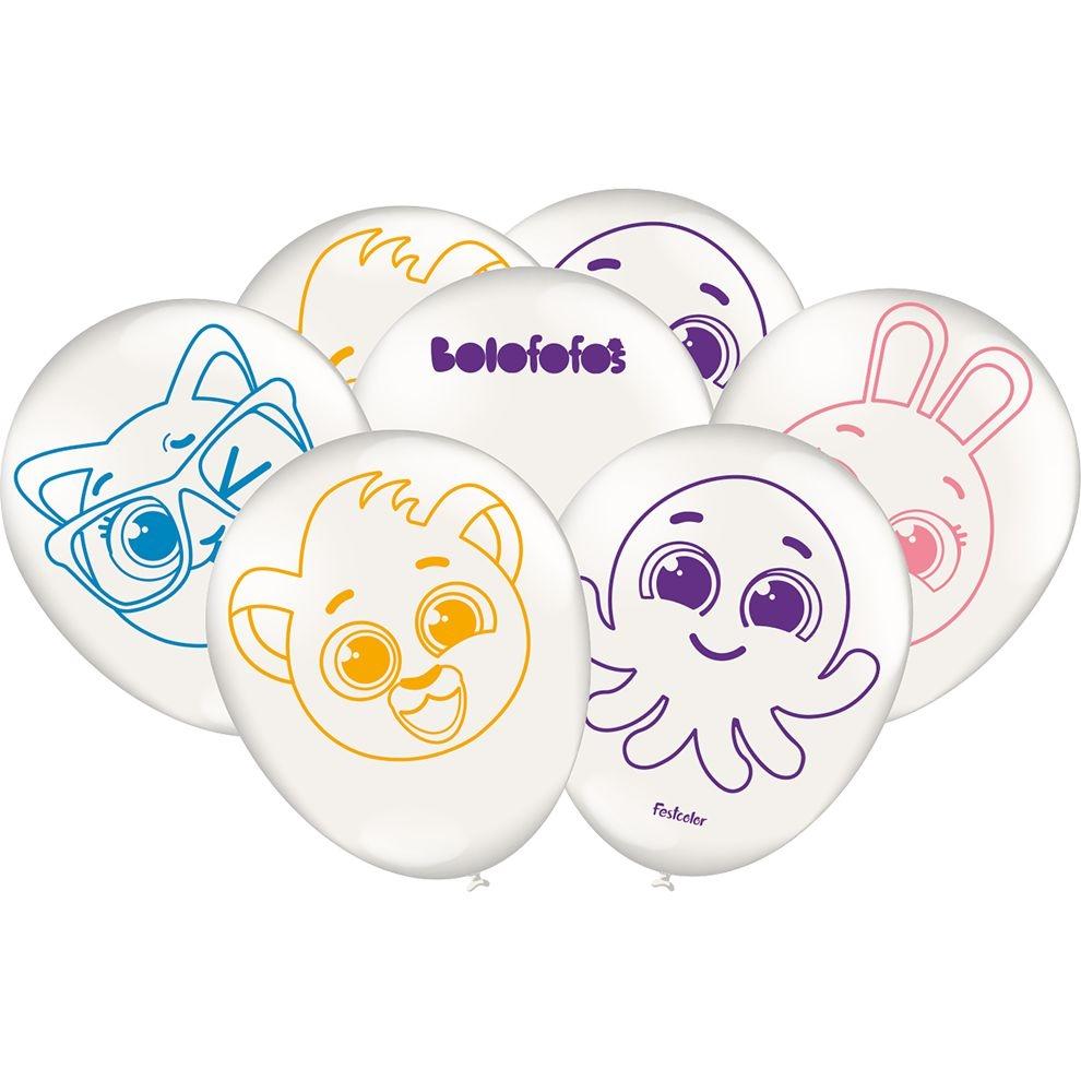 Balão Especial Festa Bolofofos - 25 unidades - Festcolor
