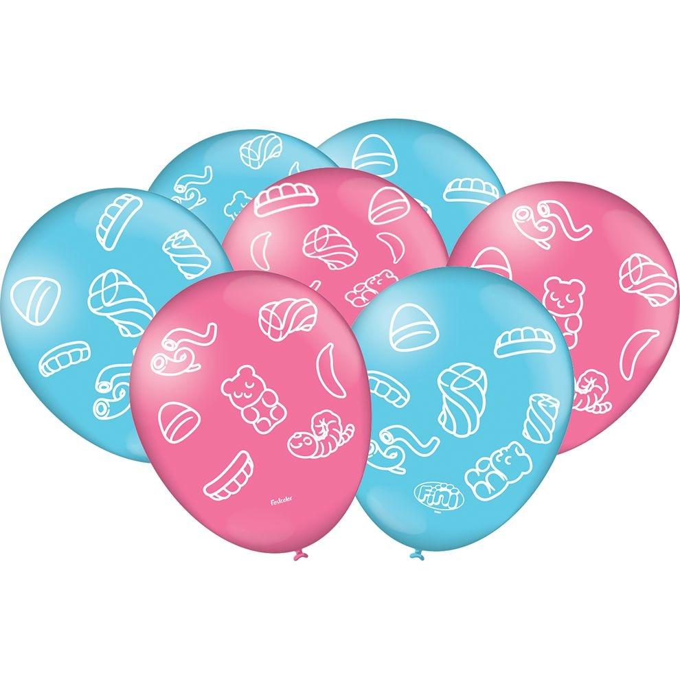 """Balão Especial Festa Fini - 9"""" 23cm - 25 unidades - Festcolor"""