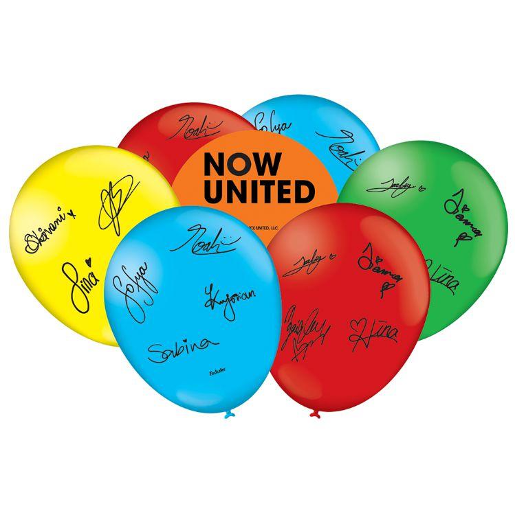 """Balão Especial Festa Now United - 9"""" 23cm - 25 Unidades - Festcolor"""