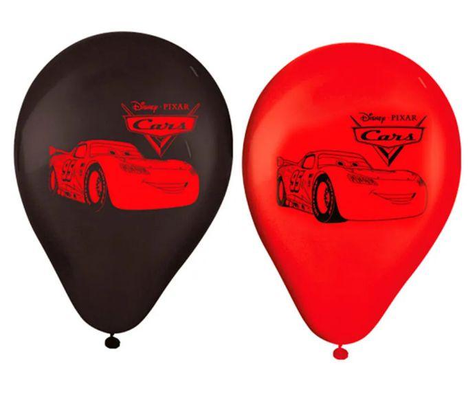 """Balão Festa Carros - 9"""" 23cm - 25 Unidades – Regina"""