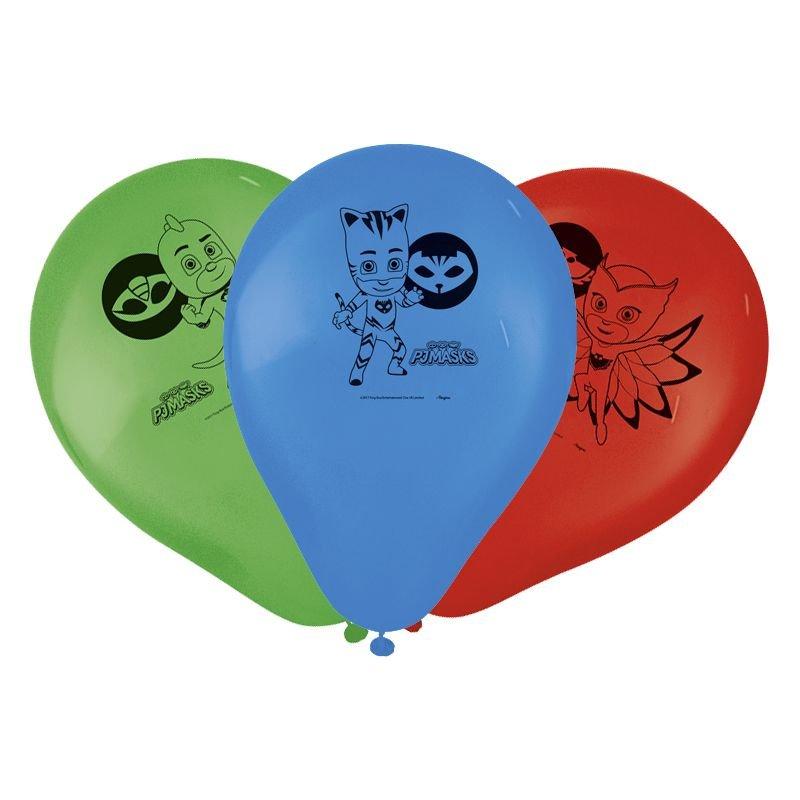 """Balão Festa PJ Masks - 9"""" 23cm - 25 Unidades – Regina"""