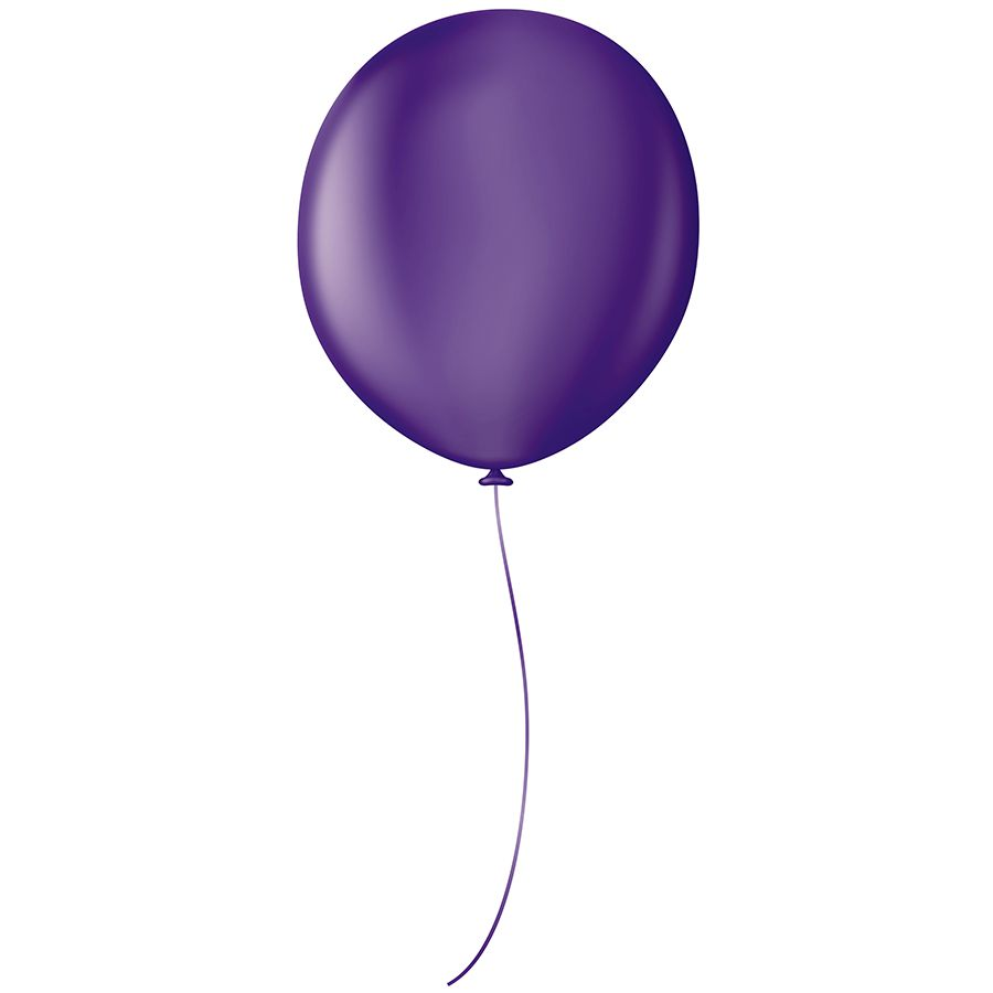 "Balão Profissional Premium Uniq 16"" 40cm - Cores - 10 unidades"