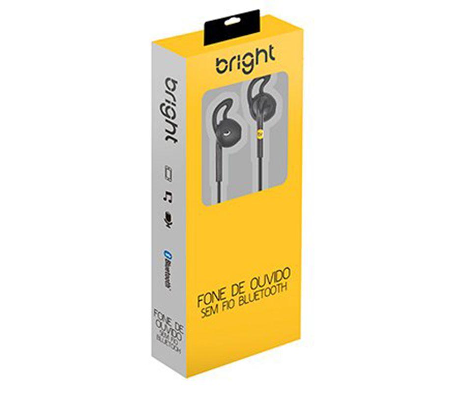 Fone de Ouvido Sem Fio Sport Bluetooth Bright 0481