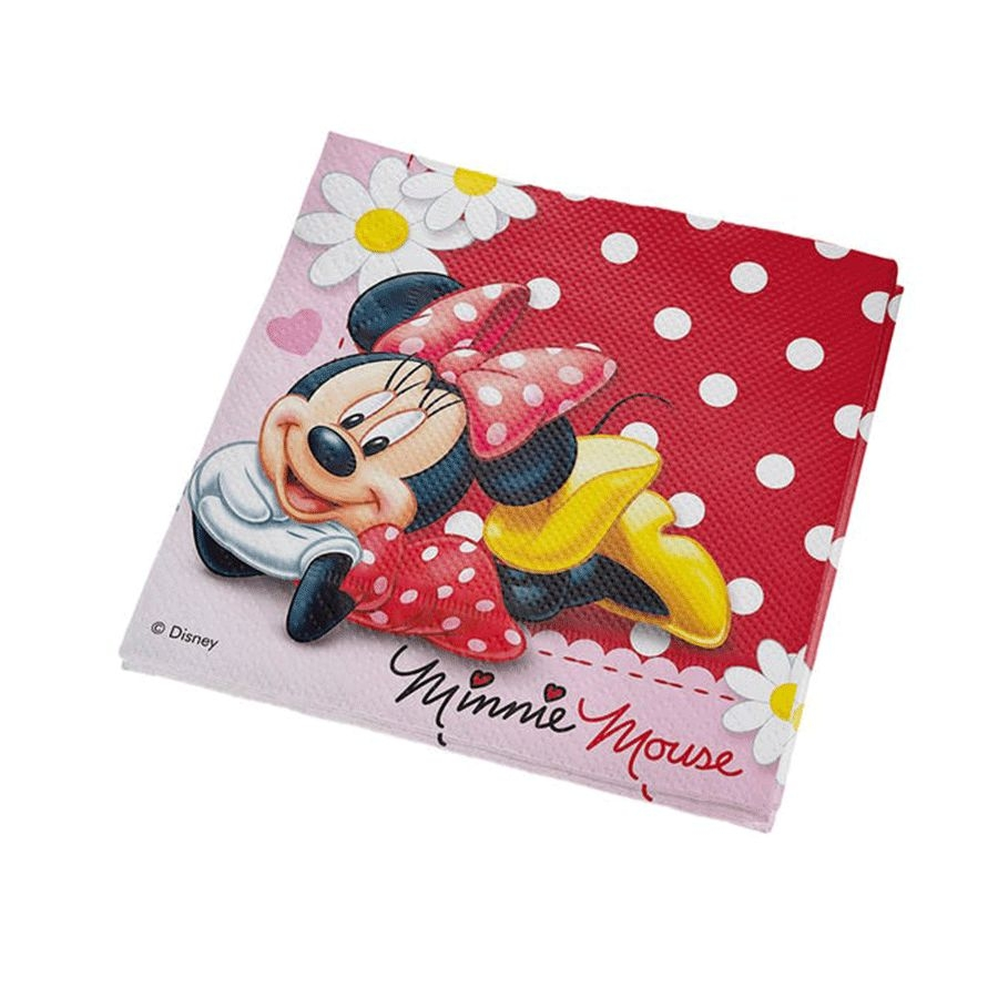 Guardanapo de Papel Festa Minnie Red 25cm - 16 folhas - Regina