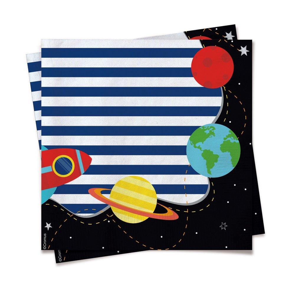 Guardanapo Festa Astronauta - 20 unidades  Cromus