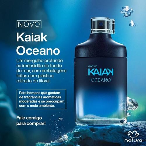Natura Kaiak Oceano Desodorante Colonia Masculino 100ml