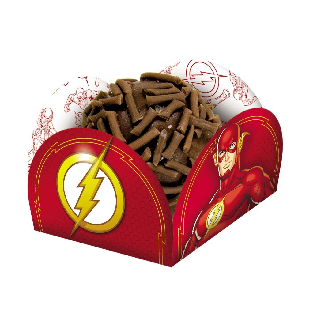 Porta Forminha para Doces Festa Flash - 40 unidades - Festcolor