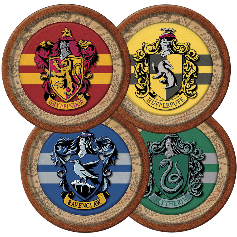 Prato Descartável Festa Harry Potter - 8 unidades - Festcolor