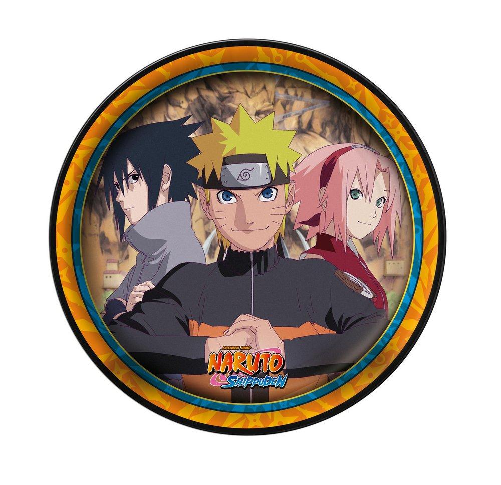 Prato Descartável Festa Naruto - 8 unidades - Festcolor