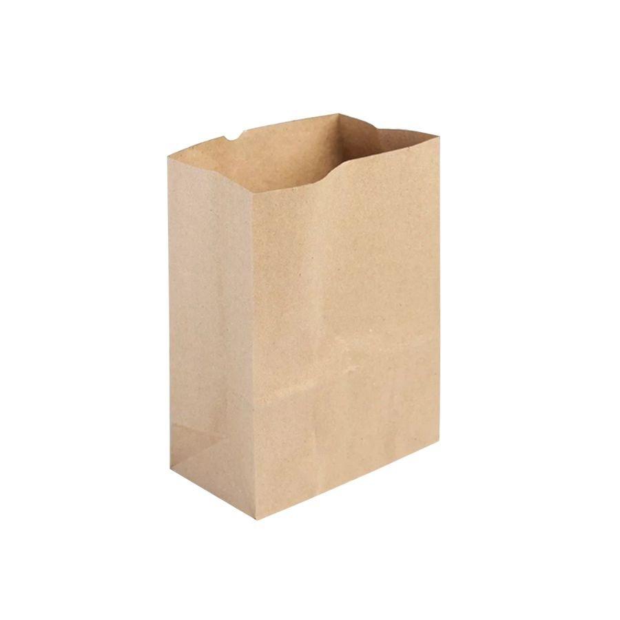 Saco de Papel Ref 3351 - 17,5x8,5x21cm - Kraft - 10 unidades - WMA