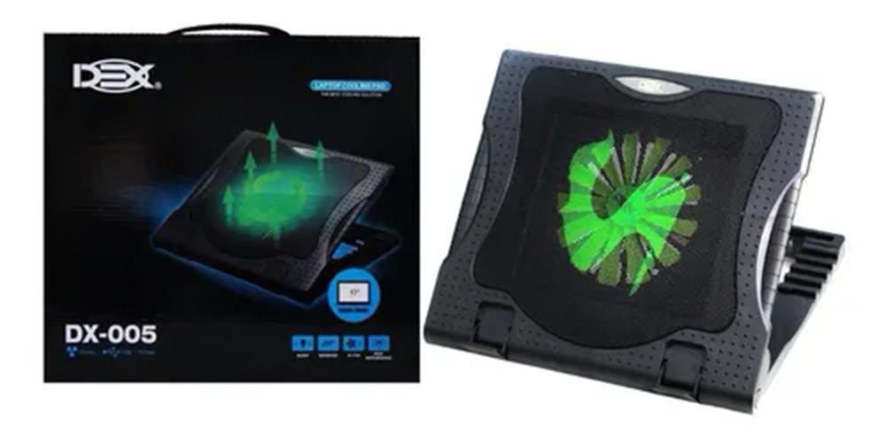 Suporte para notebook com cooler DEX - DX-005