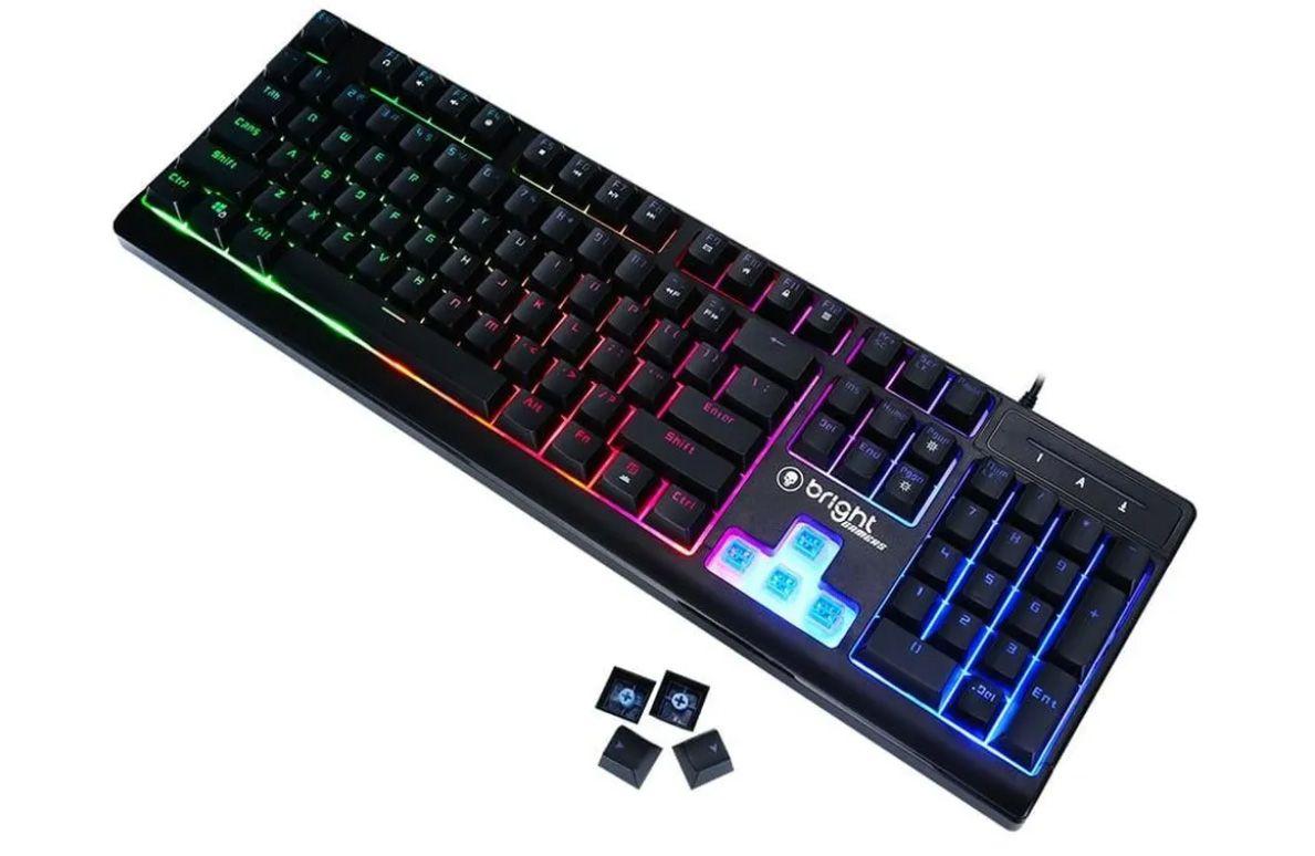 Teclado Gamer Semi Mecânico 0541 Bright