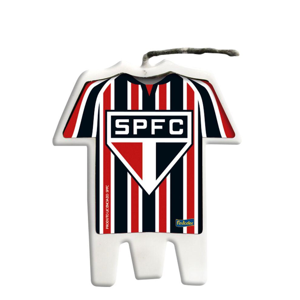 Vela Camisa Festa São Paulo - 01 unidade - Festcolor