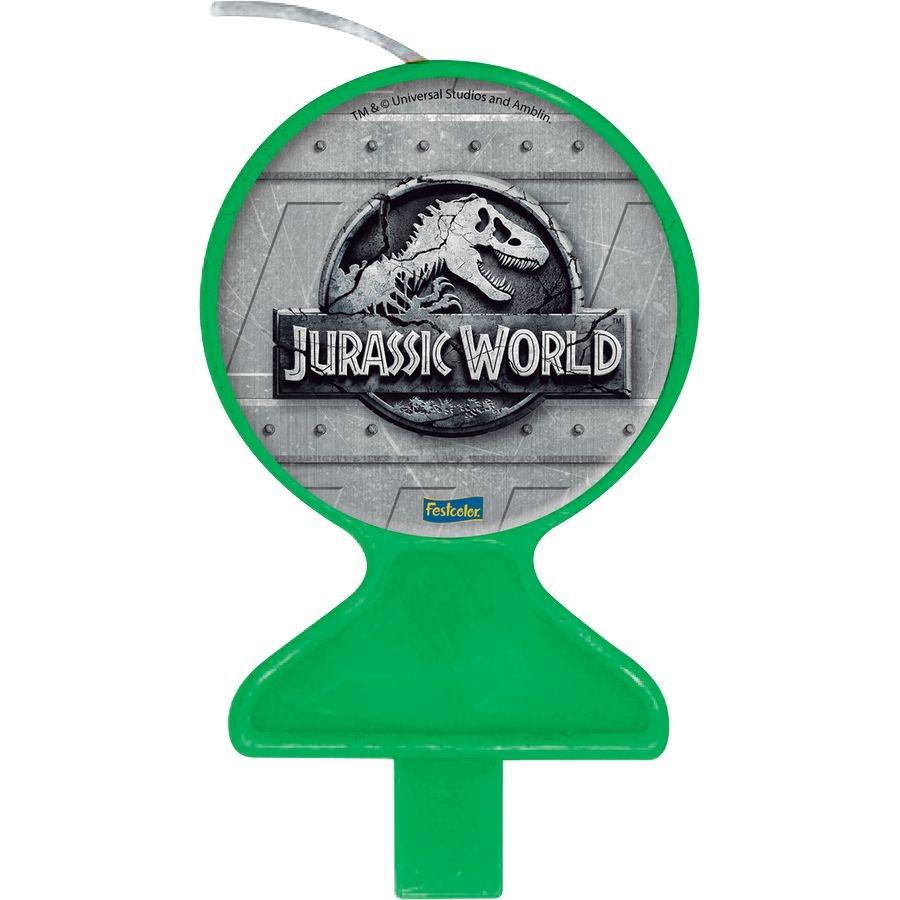 Vela Festa Jurassic World - 01 unidade - Festcolor