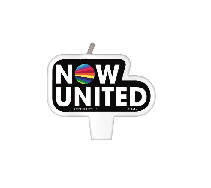 Vela Plana Festas Now United - 01 Unidade - Festcolor