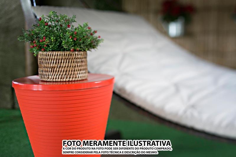 BANQUETA FLUO COLOR ROXA