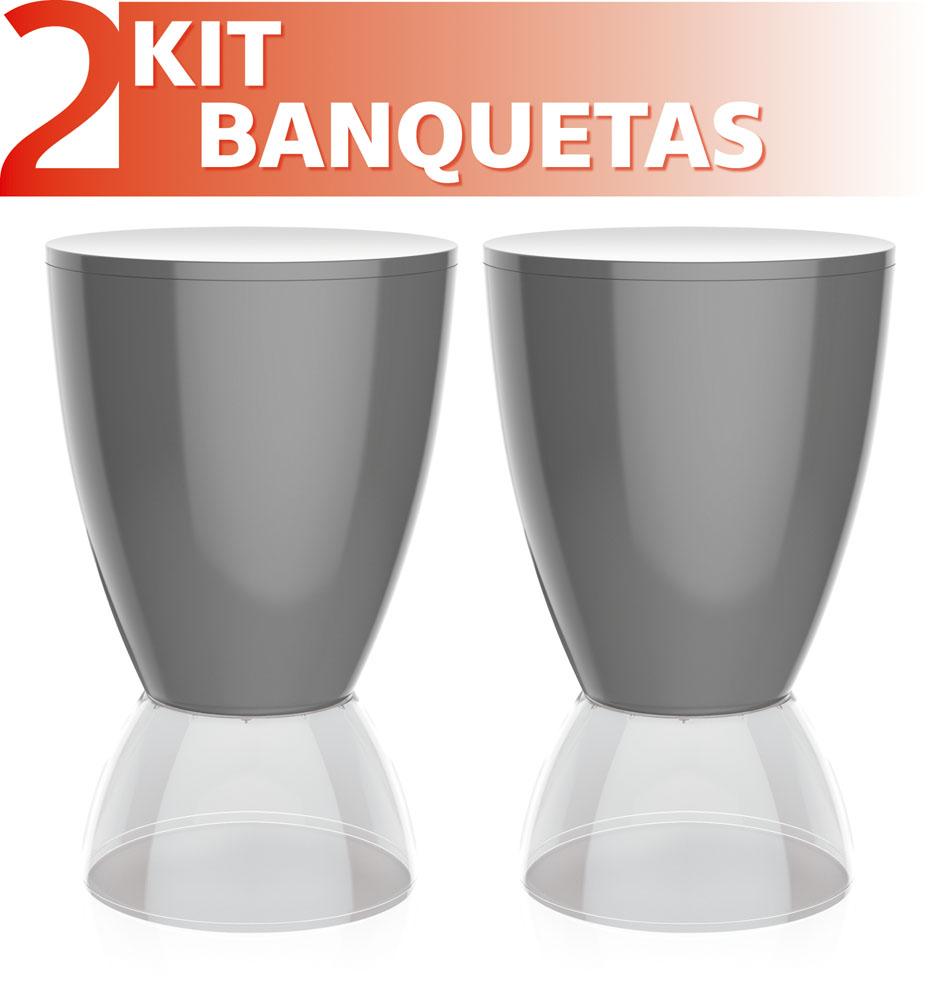 ABAJUR FLUO COM DISCO BRANCO