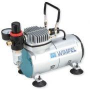Compressor Ar P/ Aerógrafos Filtro De Ar / Manômetro(bivolt)