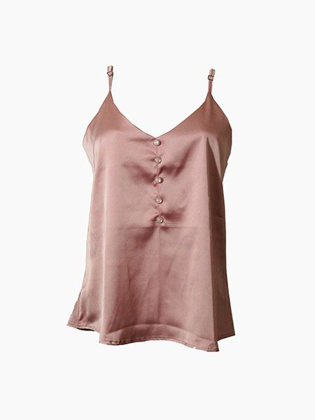Blusa alcinha rosé