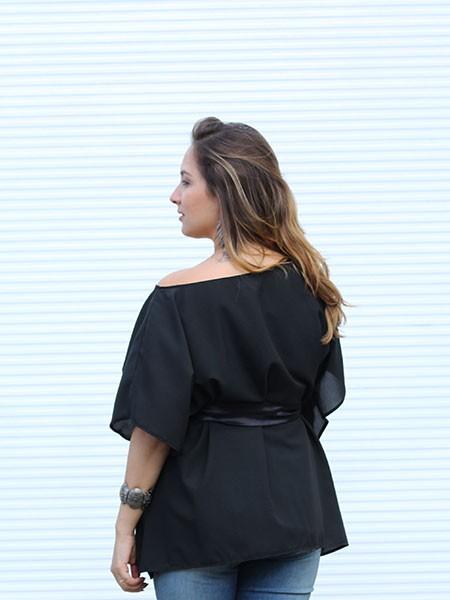 Blusa Chanel Preta