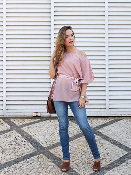 Blusa Chanel Rosê