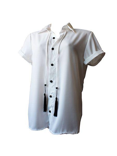 camisa off white