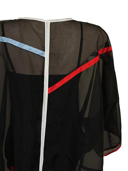 Kimono color stripes