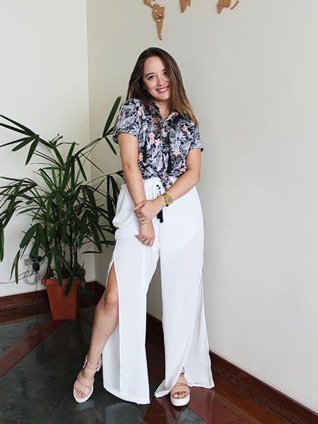 Pantalona off white