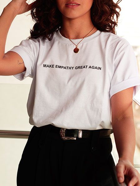 T-shirt make empathy great again